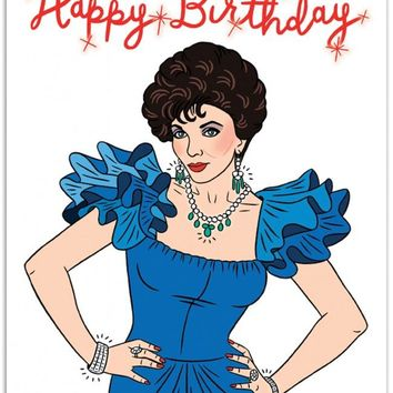 Dynasty Happy Birthday Card