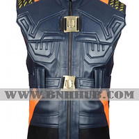 Black Panther Erik Killmonger Costume Vest | Erik Killmonger Vest | Black Panther |