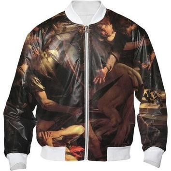 The Conversion Of Saint Paul Bomber Jacket All Over Print