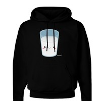 Cute Matching Milk and Cookie Design - Milk Dark Hoodie Sweatshirt by TooLoud