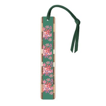 Artistic Flowers Bookmark