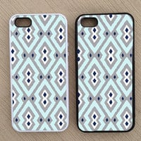 Cute Geometric Pattern iPhone Case, iPhone 5 Case, iPhone 4S Case, iPhone 4 Case - SKU: 233