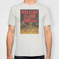 WELCOME TO THE JUNGLE T-shirt by RichCaspian | Society6