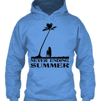Never Ending Summer Men's Surf Hoodie