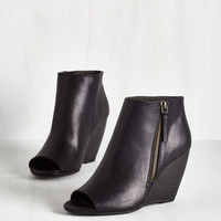 Urban Kick and Choose Bootie in Black