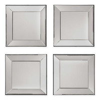 Office Star® Products Time Square 4-Piece Mirror Set