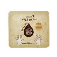 SKINFOOD Pine Nut & Shea Butter Nail Mask (5sheets)/ Made in Korea
