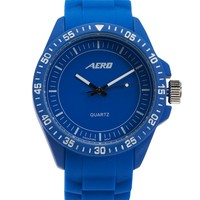 Aeropostale  Mens Athletic Rubber Watch - Black, One