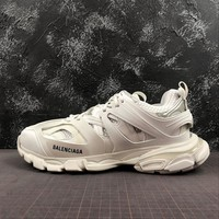 Balenciaga Track Trainers In White Mesh And Nylon Sneakers - Best Online Sale