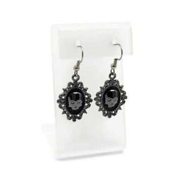 Crystal Skulls Earrings