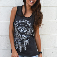 Indian Eye Open Side Tank | New Age Queen