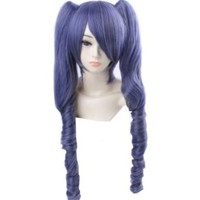 FENGSHANG Black Butler Ciel Phantomhive Lolita Cosplay Long Wigs 27 Inches