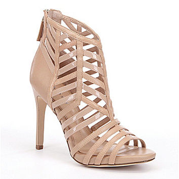 Gianni Bini Leuca Caged Peep-Toe Pumps | Dillards.com