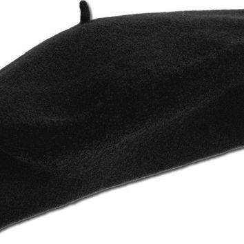 KBETHOS FRENCH BERET 11.5 Inch Tam 100% Wool Mens Womens Quality Hat New