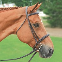 Connemara Padded Fancy Stitched Bridle | RIE5172