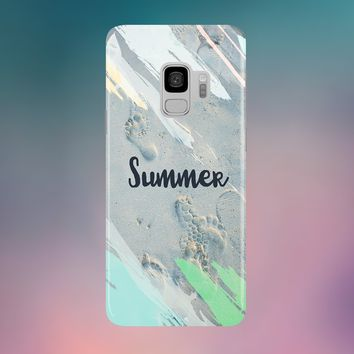 Summer Walk Phone Case for Apple iPhone, Samsung Galaxy, and Google Pixel