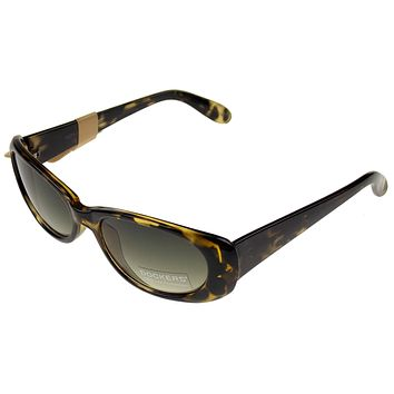 Levi Strauss DOCKERS Sunglasses  UV Oval Yellow Black Plastic 53-18-130 NEW