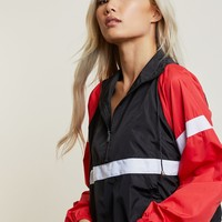 On Track Colorblock Windbreaker