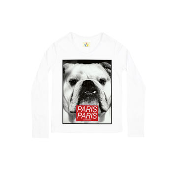 DOG PARIS Long-Sleeve T-Shirt