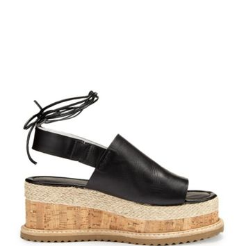 Whistles Slingback Platform Wedge Sandals - Rada Cork | Bloomingdales's