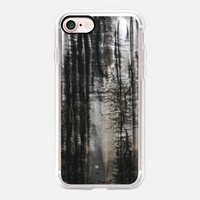 Black and Grey iPhone 7 Carcasa by littlesilversparks | Casetify