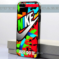 Nike - Just Do It - Colorfull - iPhone 4/4S Case - iPhone 5 Case - Samsung Galaxy S3 case - Samsung Galaxy S4 case