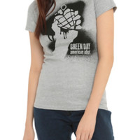 Green Day American Idiot Girls T-Shirt