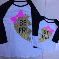 Preorder- Mommy and me Best Friend shirts