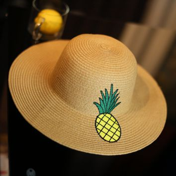 Pineapple Strawhat