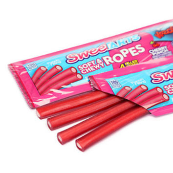 Wonka SweeTarts Candy Ropes - Cherry Punch: 24-Piece Box