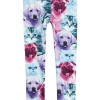 Photoreal Puppy Leggings | Girls Tights & Legwear Socks & Legwear | Shop Justice