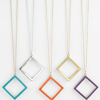 kate spade new york 'play the angles' long pendant necklace | Nordstrom