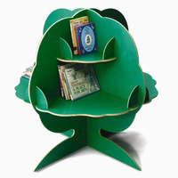Whitney Brothers Green Reading Tree Storage WB0690