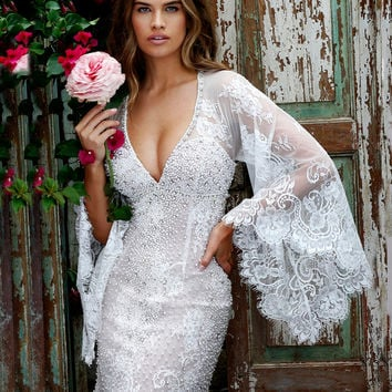 2016 Luxury Classic Designer Beading V-Neck Straight Lace Cocktail Dresses Long Sleeve Knee-Length Cap-Sleeve Party Dress