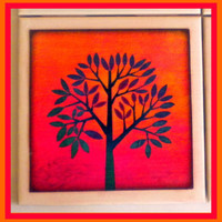 Coaster - Ceramic Tile - Tree on Luulla