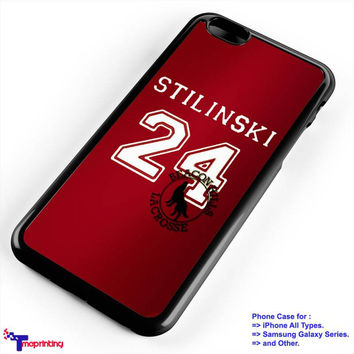 Teen Wolf Stilinski Lacrosse Jersey - Personalized iPhone 7 Case, iPhone 6/6S Plus, 5 5S SE, 7S Plus, Samsung Galaxy S5 S6 S7 S8 Case, and Other