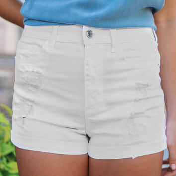 Daytona Beach Denim Shorts