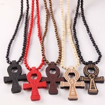 Stylish Shiny New Arrival Gift Jewelry Hip-hop Accessory Pendant Cross Rack Necklace [47755558924]
