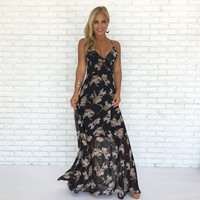 Countryside Blooms Maxi Dress