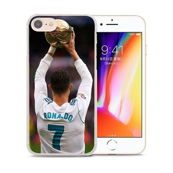 Sports Portugal Cristiano Ronaldo Case Cover For Iphone 5 6 7 8 Plus X 10 Apple