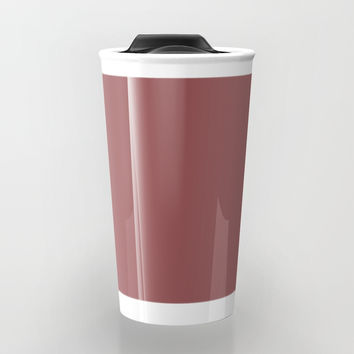 Marsala Travel Mug by spaceandlines