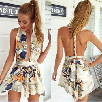 Hippie Love Wrapped Romper
