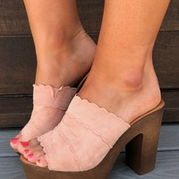 Walk On By Heels: Blush