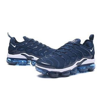 2018 Nike Air VaporMax Plus TN Dark Blue Sport Running Shoes