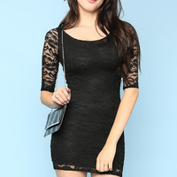 Lacy Slim Fit Dress