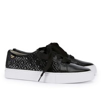 Tory Burch Women's Metallic Marion Quilted Leather Fashion Sneakers