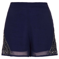 Midnight Embellished Shorts - New In This Week  - New In