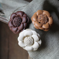 a taste of autumn flower hair clip