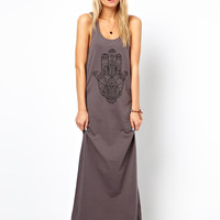 ASOS Maxi Dress With Hamsa Hande