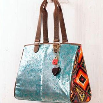 "Teskey's Saddle Shop:  Consuela ""The Laguna"" Couture Grande Tote"